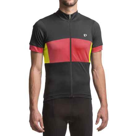 Pearl Izumi ELITE Escape Semi-Form Jersey - Short Sleeve (For Men) in Tibetan Lime - Closeouts