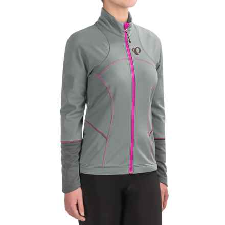 Pearl Izumi ELITE Escape Soft Shell Jacket (For Women) in Monument/Smoked Pearl - Closeouts