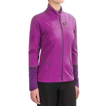 Pearl Izumi ELITE Escape Soft Shell Jacket (For Women) in Purple Wine/Wineberry - Closeouts