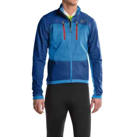 Pearl Izumi ELITE Escape Thermal Cycling Jacket - Soft Shell (For Men) in Blue X 2 - Closeouts