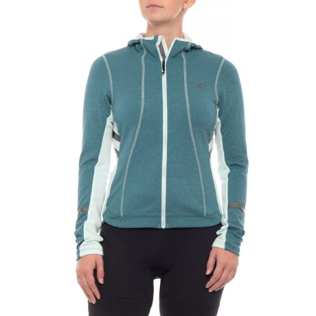 Pearl Izumi ELITE Escape Thermal Hoodie (For Women) in Blue Steel
