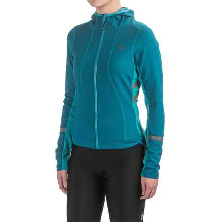 Pearl Izumi ELITE Escape Thermal Hoodie (For Women) in Moroccan Blue - Closeouts