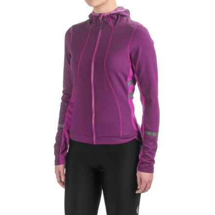 Pearl Izumi ELITE Escape Thermal Hoodie (For Women) in Wineberry - Closeouts