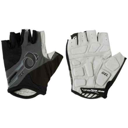 Pearl Izumi ELITE Gel Bike Gloves - Fingerless (For Men) in Black/Black - Closeouts