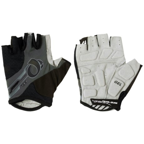 Pearl Izumi ELITE Gel Bike Gloves - Fingerless (For Men) in Black/Black