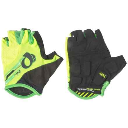 Pearl Izumi ELITE Gel Bike Gloves - Fingerless (For Men) in Screaming Yellow/Black - Closeouts
