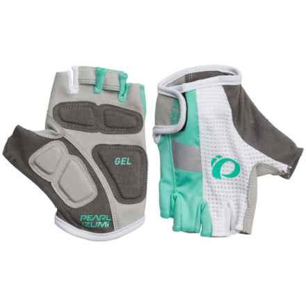 Pearl Izumi ELITE Gel Bike Gloves - Fingerless (For Women) in Aqua Mint - Closeouts