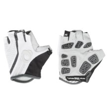 Pearl Izumi Elite Gel-Vent Bike Gloves - Fingerless (For Men) in White/White - Closeouts