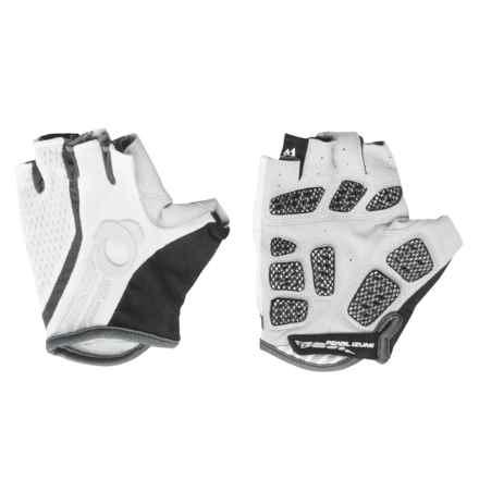 Pearl Izumi Elite Gel-Vent Bike Gloves - Fingerless (For Men) in White/White - Closeouts