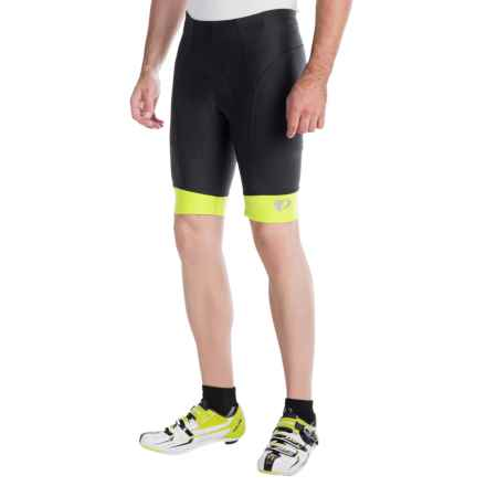 Pearl Izumi ELITE In-R-Cool® Bike Shorts (For Men) in Black/Lime Punch - Closeouts