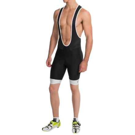 Pearl Izumi ELITE In-R-Cool® Cycling Bib Shorts (For Men) in Black/White - Closeouts