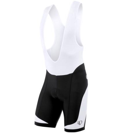 Pearl Izumi ELITE In-R-Cool® Cycling Bib Shorts - UPF 50+ (For Men) in Black/White