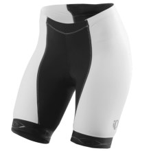 Pearl Izumi ELITE In-R-Cool® Cycling Shorts - UPF 50+ (For Women) in Black/White - Closeouts