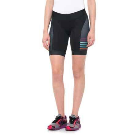 Pearl Izumi ELITE In-R-Cool® LTD Tri Shorts - UPF 50+ (For Women) in Psych Black - Closeouts