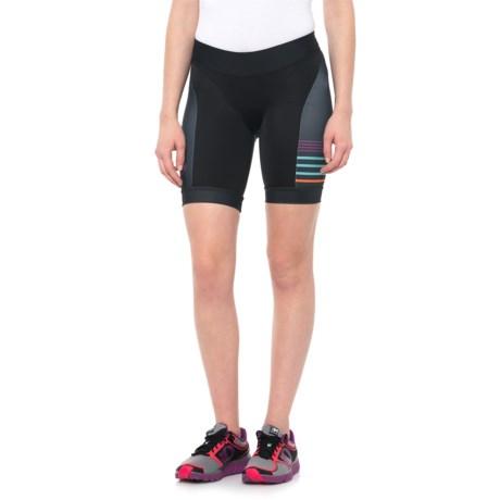 Pearl Izumi ELITE In-R-Cool® LTD Tri Shorts - UPF 50+ (For Women) in Psych Black