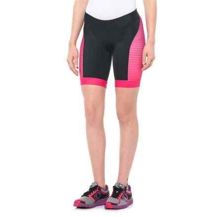 Pearl Izumi ELITE In-R-Cool® LTD Tri Shorts - UPF 50+ (For Women) in Radiating Rouge Red - Closeouts