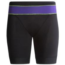 Pearl Izumi ELITE In-R-Cool® Tri Shorts - UPF 50+ (For Women) in Black/Dahlia - Closeouts