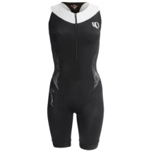 Pearl Izumi Elite In-R-Cool® Tri Suit - Built-In Chamois, Sports Bra Included (For Women) in Black Pinstripe - Closeouts