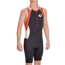 Pearl Izumi ELITE In-R-Cool® Triathlon Suit - UPF 50 (For Men) in Black/Cherry Tomato - Closeouts