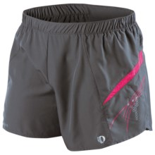 Pearl Izumi Elite Infinity Shorts (For Women) in Shadow Grey/Pink Punch - Closeouts