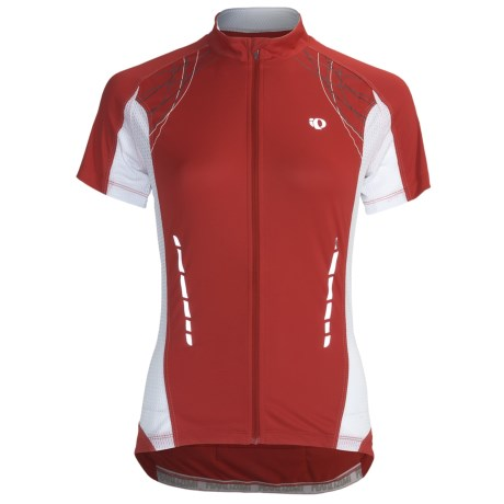 Pearl Izumi Elite Jersey - Full Zip, Short Sleeve (For Women) in Orchid
