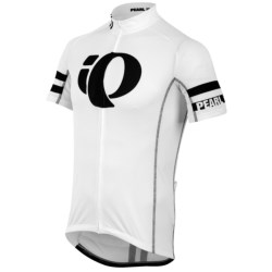 Pearl Izumi ELITE Limited Climbers Cycling Jersey - Full Zip, Short Sleeve (For Men) in Centerline Black