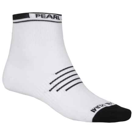 Pearl Izumi ELITE Low Cycling Socks - Ankle (For Men) in White - Closeouts