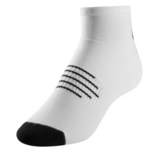Pearl Izumi ELITE Low Cycling Socks (For Men) in Big Ip White/Black - Closeouts
