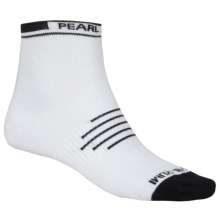 Pearl Izumi ELITE Low Cycling Socks (For Men) in White - Closeouts