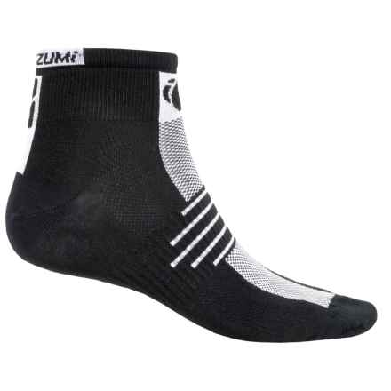 Pearl Izumi ELITE Low Socks - Ankle (For Men) in Black - Closeouts