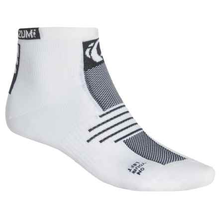 Pearl Izumi ELITE Low Socks - Ankle (For Men) in White - Closeouts