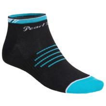 Pearl Izumi ELITE Low Socks - Below the Ankle (For Women) in Fern Scuba Blue - Closeouts