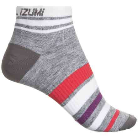 Pearl Izumi ELITE Low Socks - Below the Ankle (For Women) in Pi Core Grey - Closeouts