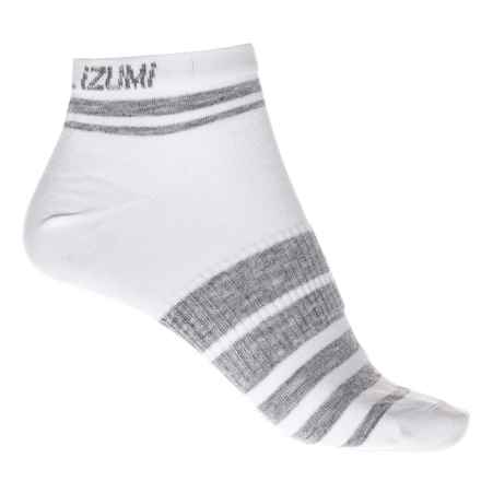 Pearl Izumi ELITE Low Socks - Below the Ankle (For Women) in Pi Core White - Closeouts