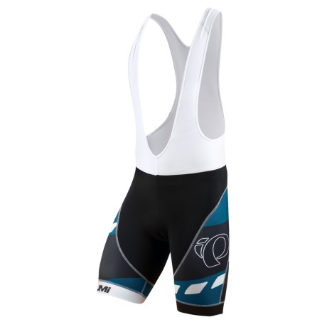 Pearl Izumi Elite LTD Bib Cycling Shorts (For Men) in Highway Mykonos Blue
