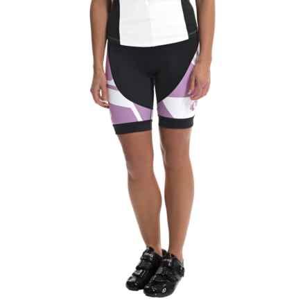 Pearl Izumi ELITE LTD Bike Shorts (For Women) in Insert Meadow Mauve - Closeouts