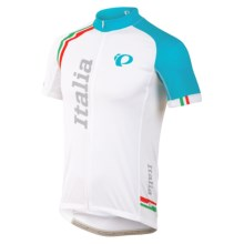 Pearl Izumi ELITE LTD Cycling Jersey - Full Zip, Short Sleeve (For Men) in Italia - Closeouts