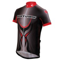 Pearl Izumi Elite LTD Cycling Jersey - Full Zip, Short Sleeve (For Men) in Shogun True Red - Closeouts
