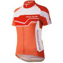 Pearl Izumi ELITE LTD Cycling Jersey - UPF 40+, Full Zip, Short Sleeve (For Women) in Build Living Coral - Closeouts