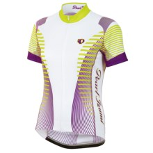 Pearl Izumi ELITE LTD Cycling Jersey - UPF 40+, Full Zip, Short Sleeve (For Women) in Futuristic Orchid - Closeouts