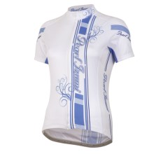 Pearl Izumi Elite LTD Cycling Jersey - UPF 40+, Full Zip, Short Sleeve (For Women) in New Big Ip Blue Haze - Closeouts