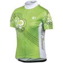 Pearl Izumi Elite LTD Cycling Jersey - UPF 40+, Full Zip, Short Sleeve (For Women) in Retro Bubble Green - Closeouts