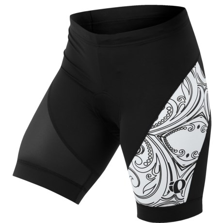 Pearl Izumi Elite LTD Cycling Shorts (For Women) in New Big Ip Black Purple Haze