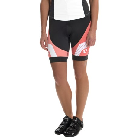 Pearl Izumi Elite LTD Cycling Shorts (For Women) in Build Living Coral