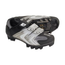 Pearl Izumi Elite MTB Cycling Shoes - SPD (For Women) in Black/Martini - Closeouts