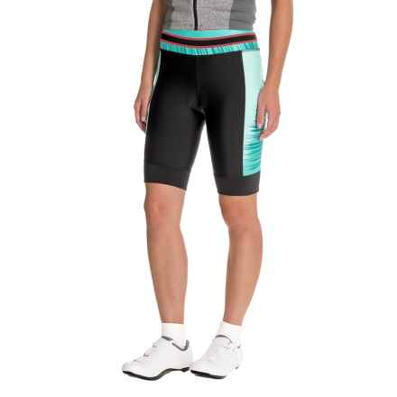 Pearl Izumi ELITE Pursuit Bike Shorts (For Women) in Atlantis Rush - Closeouts