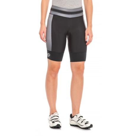 12cce4b7ce5e Pearl Izumi ELITE Pursuit Bike Shorts (For Women) in Black Black Diffuse