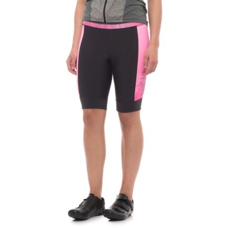 Pearl Izumi ELITE Pursuit Bike Shorts (For Women) in Screaming Pink Rush