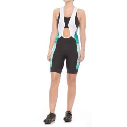 Pearl Izumi ELITE Pursuit Cycling Bib Shorts (For Women) in Atlantis Rush - Closeouts