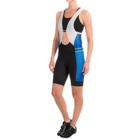 Pearl Izumi ELITE Pursuit Cycling Bib Shorts (For Women) in Dazzling Blue Rush